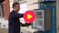 Een koelkast vol gratis eten