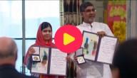 Nobelprijs voor de Vrede in ontvangst genomen