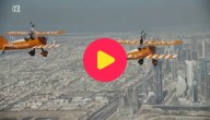 vliegtuigstunts