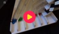 M&M's sorteren met een machine
