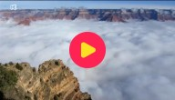 wolken in Grand Canyon