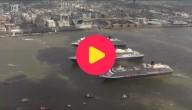 Verjaardag met cruiseschepen