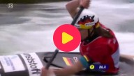 Slalom met kano
