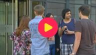 Studenten van de universiteit in Leuven