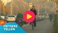 fietsers tellen