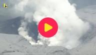 Vulkaan uitbarsting in Japan