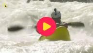 Kajakken op wild water