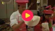 Wereldrecord pizzadeeg china