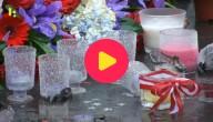 bloemen en kaarsen