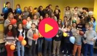 10000 luchtballonnen in het Latijn