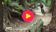 Skaten in het bos