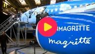 Magritte vliegtuig
