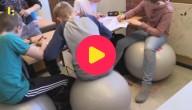 Les op een bal