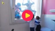Superhelden bezoeken zieke kinderen