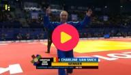 Charline Van Snick wint EK