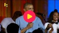Obama zingt