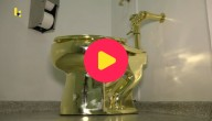 gouden toilet