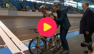 houten fiets