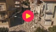 Karrewiet: Hele hevige aardbeving in Italië