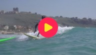 Surfer in Libanon