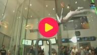 Skydiven in een verticale windtunnel