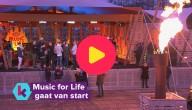 Music For Life gaat van start