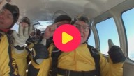Karrewiet: Oudste parachutespringer ter wereld