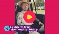 De ketchup van Ed Sheeran