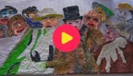 Karrewiet: Kinderen maken kunstwerk van James Ensor