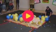 hondenrecord ballonnen knappen