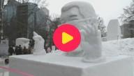 Sneeuwfestival Japan