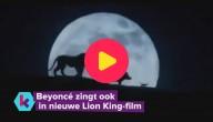 Beyoncé zingt in The Lion King