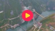 Karrewiet: Supergrote stalen brug aan elkaar gelast