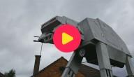 Man bouwt gigantische Star Wars-robot