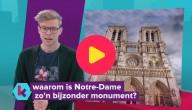 Notre-Dame zwaar beschadigd door brand