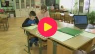 alleen op school
