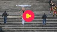 Karrewiet: Wereldrecord traplopen