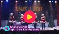 Straffe stunt voor Ariana Grande