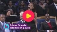 Ariana Grande neemt even pauze