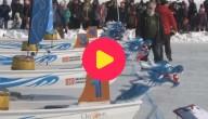 Karrewiet: Drakenboten op ijs
