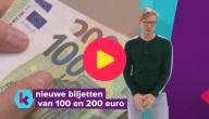 Nieuwe biljetten van 100 en 200 euro