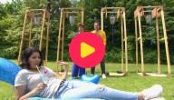 Sander, Sien en Sarah spelen de Waterbucket challenge