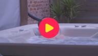 Thomas pakt een ijskoud bad