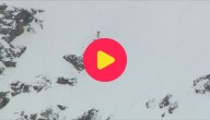Skiën en snowboarden op steile bergwanden