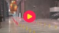 Karrewiet: wereldrecord limbo-schaatsen