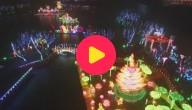 Lantaarnfestival met drone-spektakel