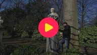 Gemaskerde standbeelden