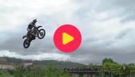 Coole motorrace in Portugal