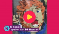 Ed Sheeran verkoopt zijn spullen