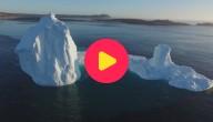 Karrewiet: Gigantische ijsberg in Canada
